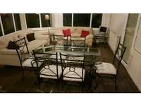 Dining Table Set. Coffee Table. 2 side tables