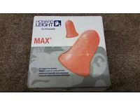 200 Pairs Howard Leight MAX - Laser Lite Ear Plugs - Soft Foam
