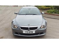 BMW 635d Sport Facelift Individual Daytona Grey With Glass Tilt Roof Huge Spec PX 335 Audi 640 M3 M6