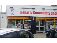 Wanted: Donations for Benarty Community Shop