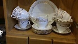 Vintage Queen Anne bone china tea set