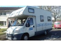 Motorhome for sale, Fiat Ducato, great old lady!