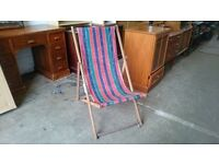 Retro Deck Chair
