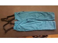 Blue Snowboarding Women Pants