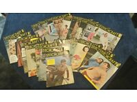 Vintage Stitch Craft Magazines 1955 onwards. Rare collection of 100 editions.