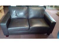 Leather Sofa 2 seaters