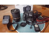 Canon 6D + 2 lenses (50mm f1.4; 24-70mm f2.8)