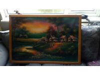 thai oil painting