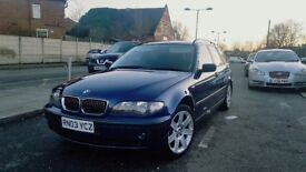 BMW 3 Series 2.2 320i SE Touring 5dr 2003 (03 reg) automatic low mileage Estate in mint condition