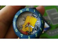 The Simpsons Bart Simpson kids watch