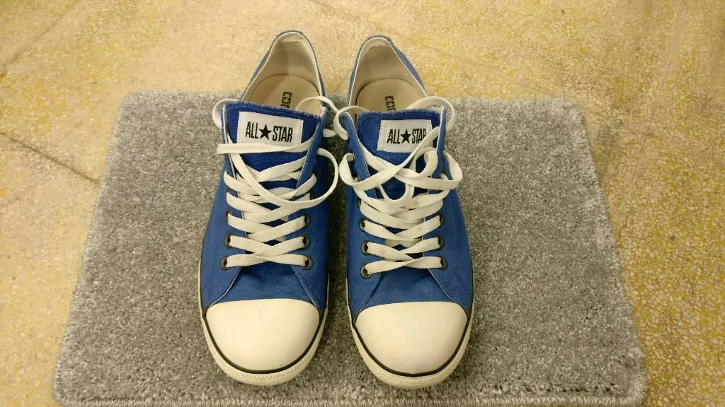 Blue Slim ox Converse £10