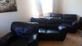 3 matching sofas