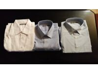 3 Pack Men's M&S Shirts size 17.5 neck/chest 44 (New, Unworn)