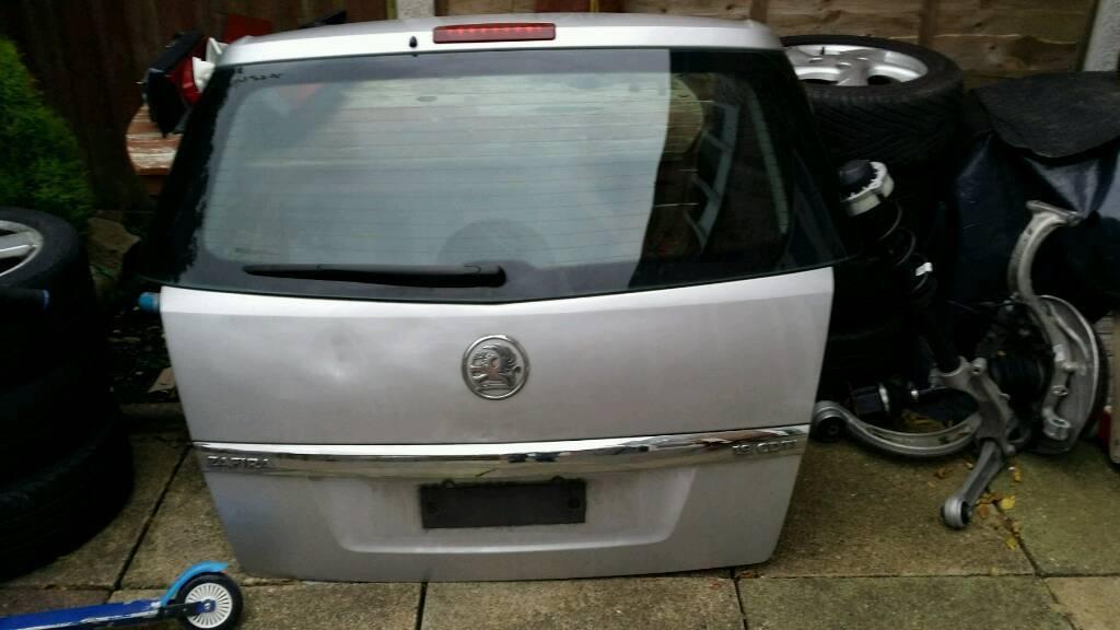 Vauxhall zafira tailgate