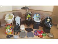 ** Quinny Moodd Pushchair Pram Stroller - Maxi Cosi Car Seat - Travel System & Lots More Bargain **