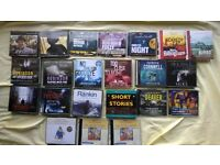 Collection of audio CD's (talking books)