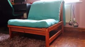 Beautiful Single solid pine bed frame by So. furniture