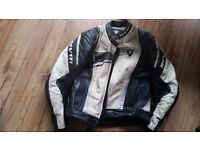 Revit Leather Motorcycle Jacket, size 52