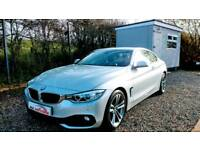 Stunning 2014 BMW 420D SPORT COUPE - fsh - FINANCE AVAILABLE