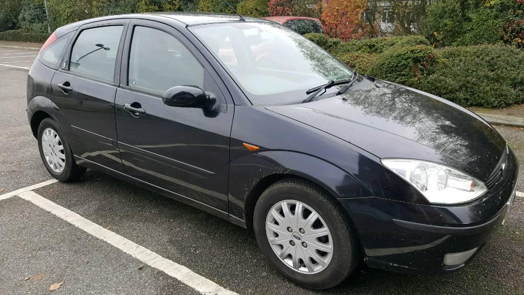 Ford Focus Ghia 2002 (52) 1.6L Petrol 12 Months MOT