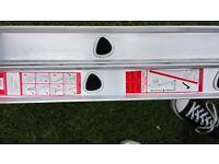Domestic double extension Aluminium ladders