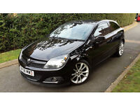 VAUXHALL ASTRA DESIGN 1.6 PETROL,3 DOOR,LOW MILEAGE,18inch ALLOY WHEELS,HALF LEATHER,GOOD COND.