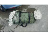 2x 11 a side football nets with carry bag