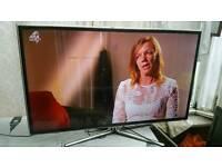 """46 """" Samsung smart led LCD tv full hd USB, wifi, 3D glasses with built-in freeview."""