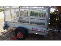 @@ WESSEX Car Trailer less than 2 Years Old Excellent Condition @@