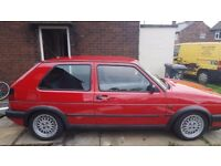 j reg golf gti mk2 vgc for 25year old car may swap part x