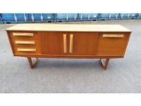 Retro Vintage Teak Sideboard Vintage Mid Century Danish Style Can Deliver