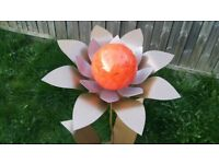 Blooming Forever Flower Ornament Garden Patio Sculpture