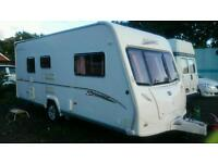 2006 Bailey vermont 2 berth comes with a fitted motor-mover and awnings
