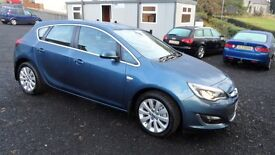 2013 Vauxhall Astra 2.0 CDTi Elite, Full leather heated seats, 32000miles local lady owner