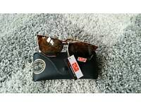 Rayban tortoise shell erika sunglasses. New in case