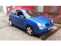 BREAKING 2002 volkswagen polo 9n 1.2 6v few parts left CLEAROUT PRICES colour code LA5M