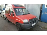 2005 Fiat Doublo Wheel Chair Access PCO Vehicle
