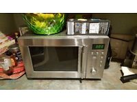 Microwave, coffee machine, washing machine, upright hoover/steamer, sofa & dinning table bundle
