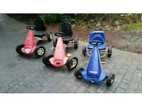Kettcar Kettler Pedal Go Carts Kart X3 German Made