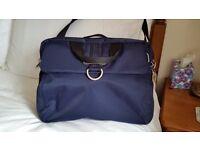 Navy blue urban business bag