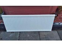 FREE - 2 x single panel radiators - in good working order