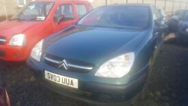 2003 CITROEN C5 HDI LX 2.0 DIESEL BREAKING FOR PARTS ONLY POSTAGE AVAILABLE NATIONWIDE