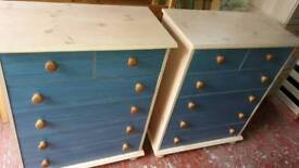 2 set chest of drawers