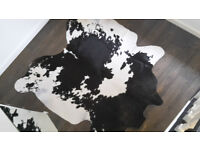 Cow-Skin Rug / Hide, stylish in excellent condition
