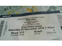 2x Placebo tickets for the First Direct Arena Leeds