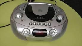 Alba stereo CD player