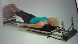 Aero pilates fullbody workout exercise machine
