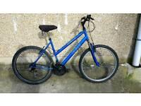 Ladies bike in blue