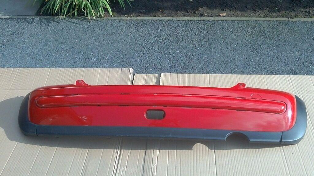 BMW MINI Cooper One Rear Bumper in Red R50