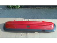 BMW MINI Cooper One Rear Bumper in Red R50